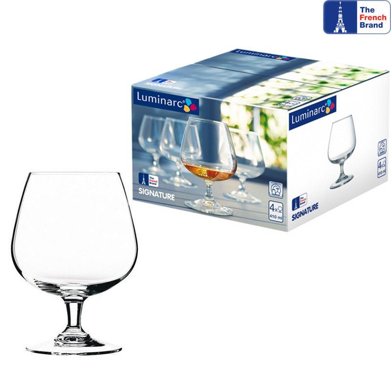 Набор бокалов для коньяка Luminarc Signature 410мл 4шт