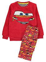 """Детская пижама, теплая пижама для мальчика George """"Тачки"""", размер 104 и 110 см"""