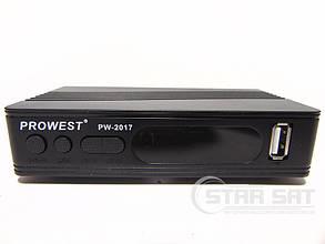Цифровой ресивер DVB-Т2 Prowest PW-2017