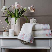 Tivolyo Home набор полотенец VENCE   2 ка   белый