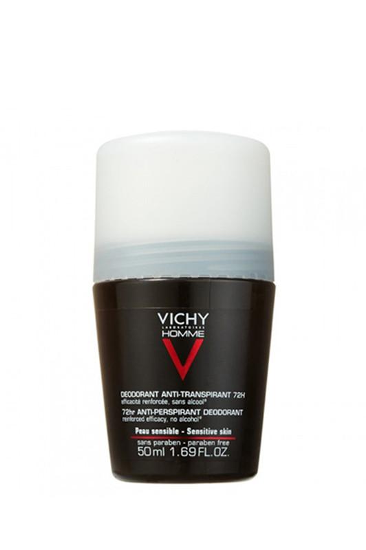 Vichy Men  Дезодорант ролик AntiTranspirant extreme contol 72h для мужчин 200 мл Код товара 17123
