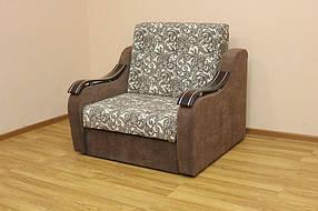 Кресло-кровать Адель 0,8 Ажур беж браун и Однотон (Катунь ТМ)