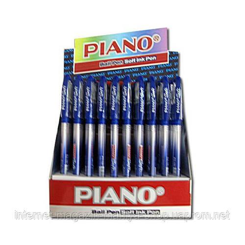 197 «Piano Soft» ручка масляная син.
