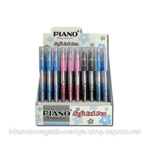 111 А Piano ручка масляная син.