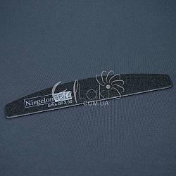 Пилочка д/ногтей Niegelon 80/80 Half черная