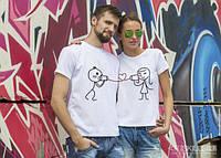 Парные футболки «Голос любви»