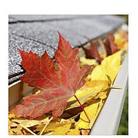 Защитная сетка от листвы для желобов