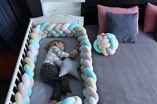 Самый оригинальный бортик в детскую кроватку 35