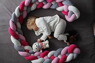 Самый оригинальный бортик в детскую кроватку 36