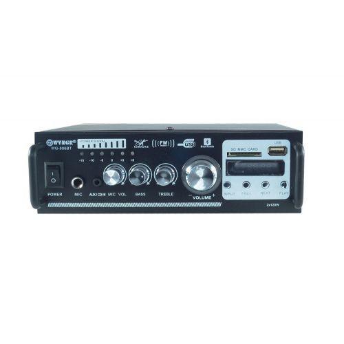 Усилитель WVNGR WG-806BT караоке Bluetooth