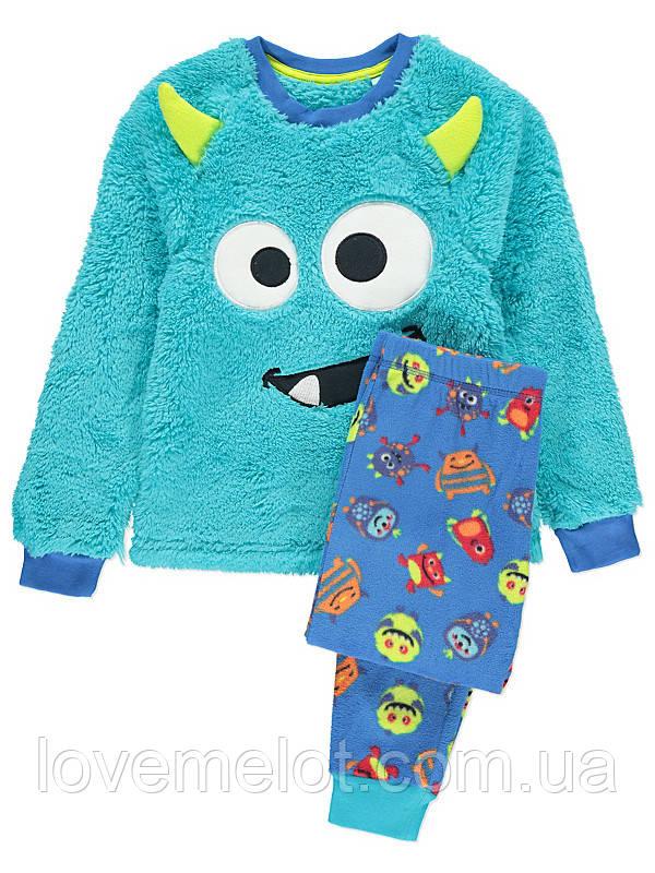 7bfc9deefdd7b Теплая пижама для мальчика George
