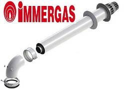 Коаксиальный горизонтальный комплект Ø60/100 мм Immergas