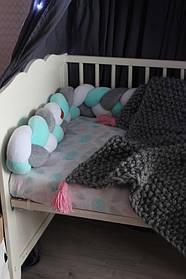 Самый оригинальный бортик в детскую кроватку 45