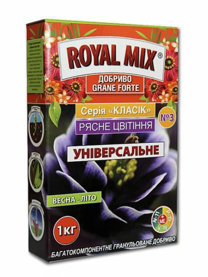 """Удобрение ROYAL MIX """" drip Обильное цветение 1кг"""