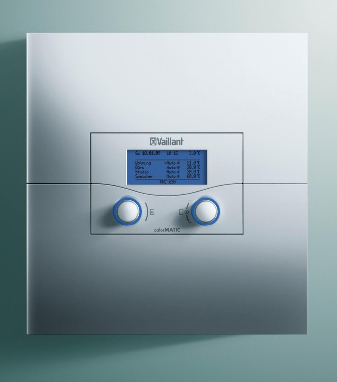 Vaillant CalorMATIC VRC 630/3 погодозависимый автоматический каскадный регулятор