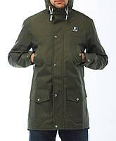 Мужская куртка парка «Ястребь» Тарас Весна – Олива