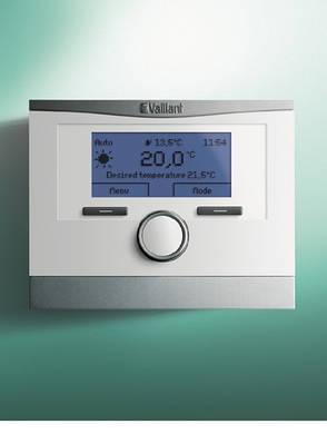 Vaillant multiMATIC VRC700/6 погодозависимый автоматический каскадный регулятор, фото 2
