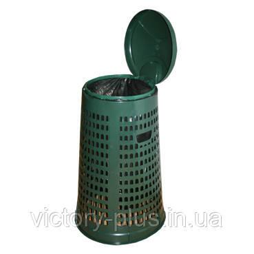 Корзина-держатель мешка пластмассовая 110л