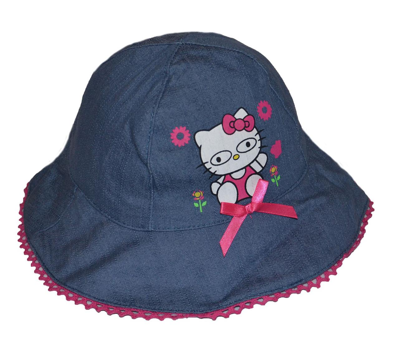 Легкая панамка для девочки