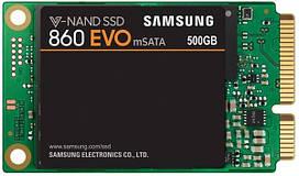 SSD НАКОПИТЕЛЬ SAMSUNG 860 EVO 500GB MSATA TLC (MZ-M6E500BW)