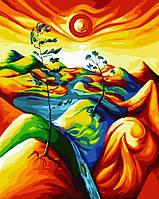 Раскраска по номерам Краски саванны (BK-GX22021) 40 х 50 см [Без коробки]