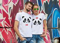Парные футболки «Милые панды»
