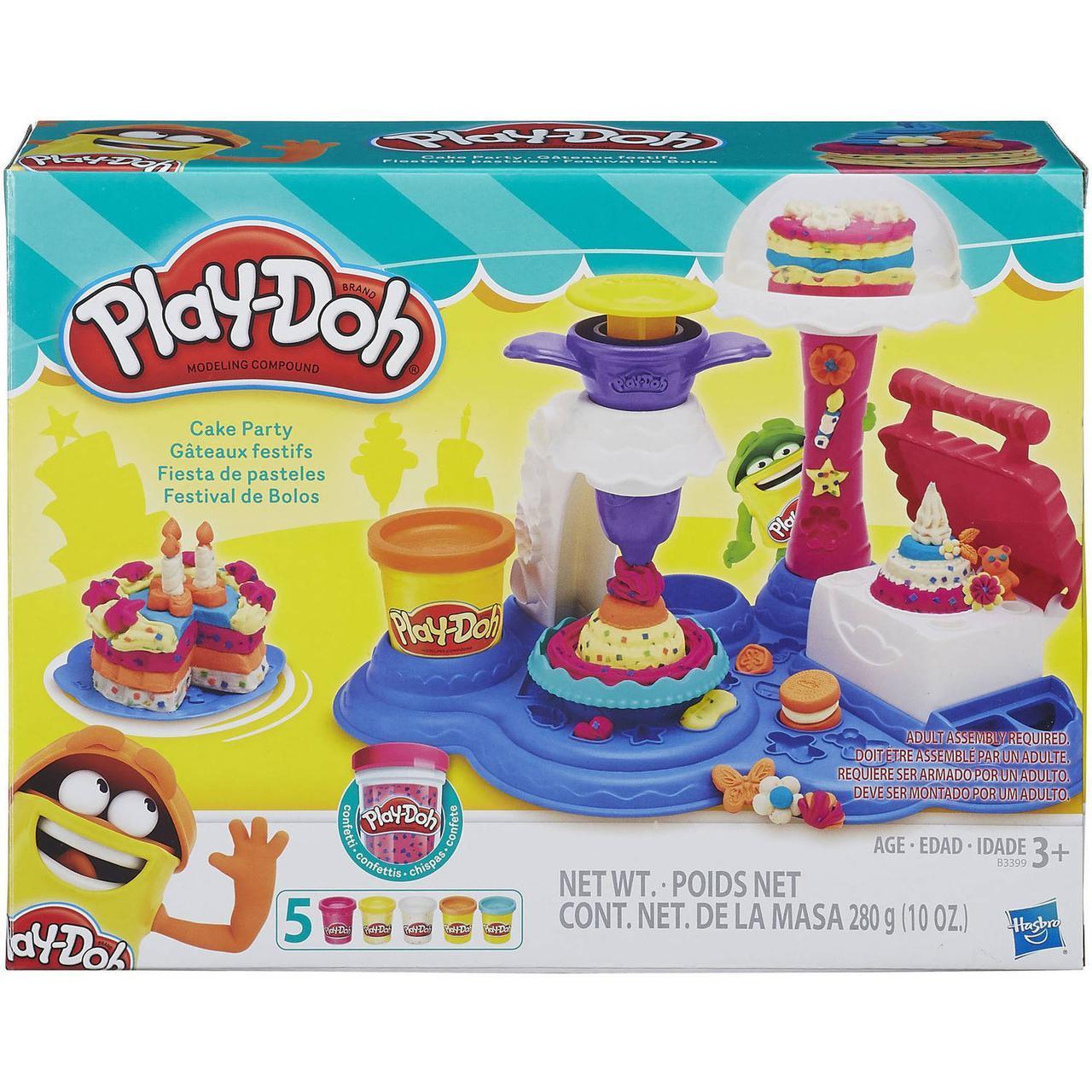 Игровой набор Play-doh Сладкая вечеринка. Оригинал Hasbro B3399