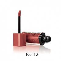 Жидкая матовая помада для губ Bourjois Rouge Edition Velvet Lipstick (12-молочный шоколад)