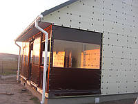 Утепление веранды мягкими окнами