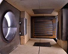 Стальная печь буржуйка Асар 7 на 160 м2, 7 шамотных кирпичей, фото 2