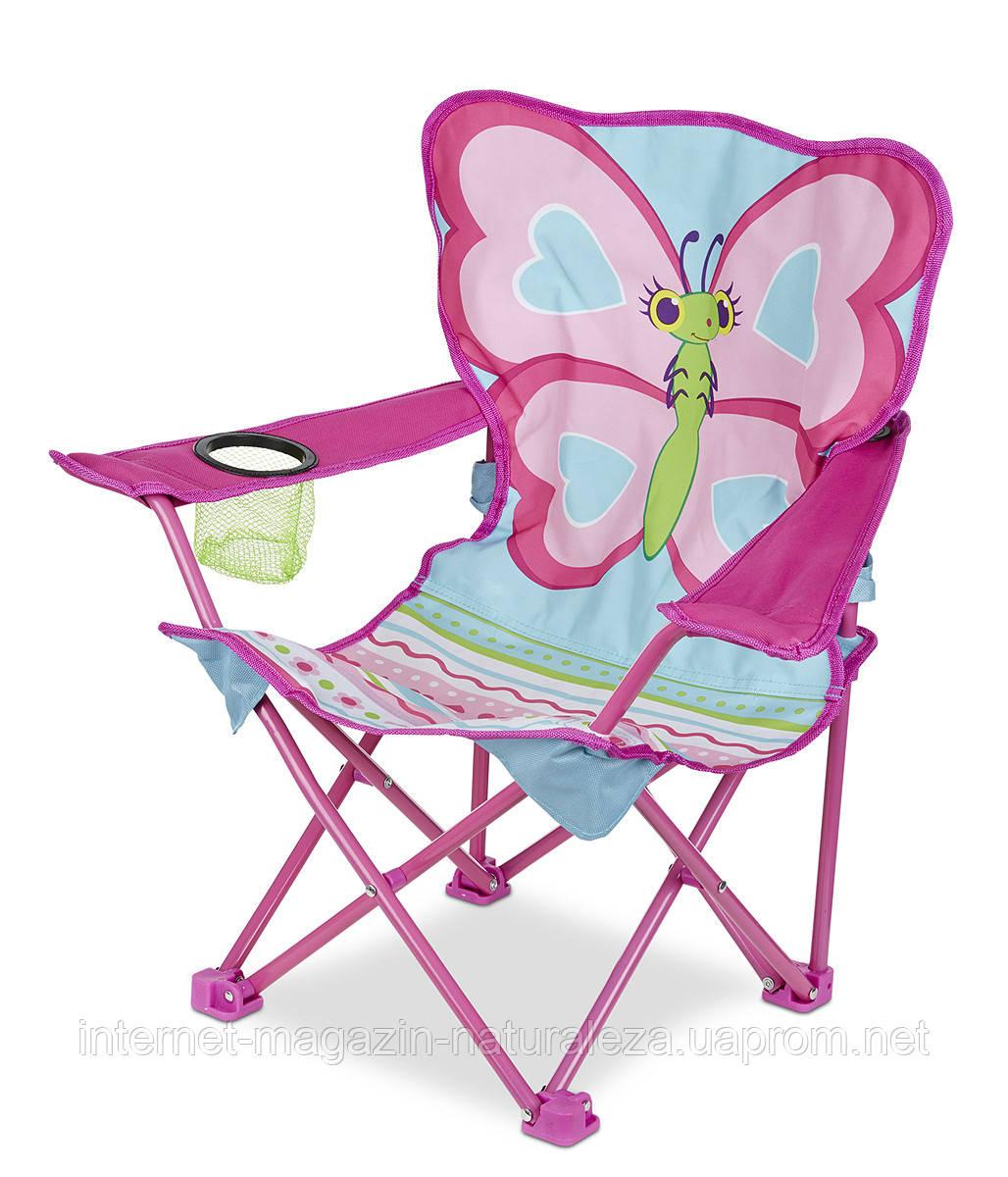 Раскладной детский стульчик Бабочка Белла Melissa&Doug