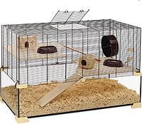 Стеклянная клетка для хомяков KARAT 100.ferplast