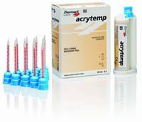 ACRYTEMP колір А2, 76g (50ml), 15 насадок композитна пластмаса для виготовлення тимчасових коронок