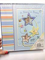Альбом для фотографий  детский для мальчика в коробке