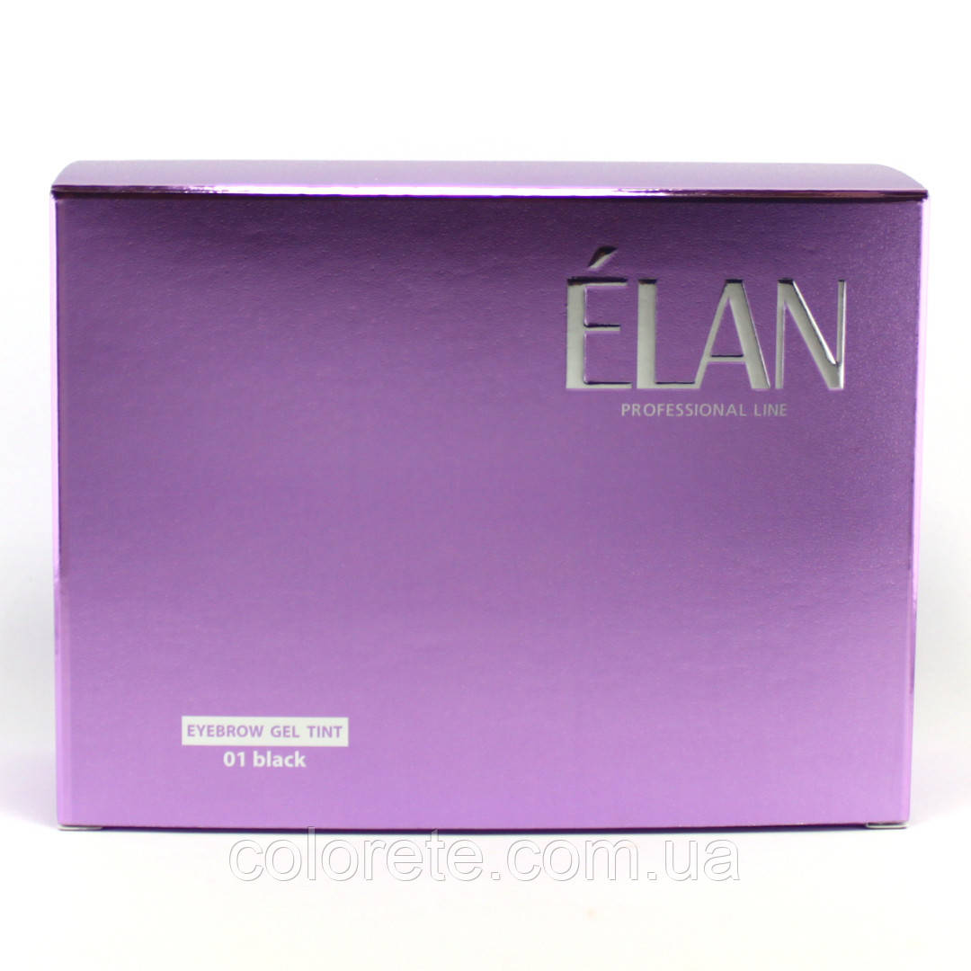 "ELAN ""01 black"" Краска для бровей, набор"