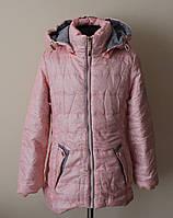 Куртка для девочки от 4-10 лет детская демисезонная Венгрия, фото 1