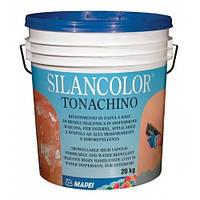 Водоотталкивающая силиконовая штукатурка для фасадов Silancolor Tonachino
