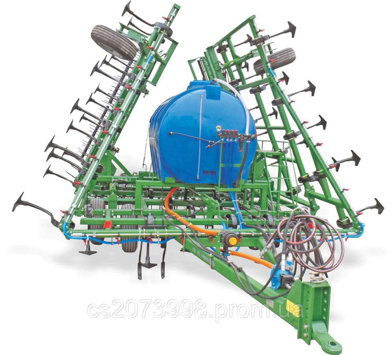 Культиватор сплошной обработки АК-9.7м с внесением жидких удобрений/грунтовых гербицидов