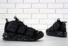 """Мужские кроссовки Supreme x Nike Air More Uptempo """"Suptempo"""" топ реплика, фото 3"""