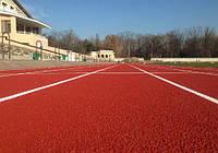 Стадіон Спартак м. Мелітополь Покриття Сonipur SP Conica Сертифікат IV категорії IAAF