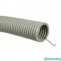 Труба гофрир. ПВХ с протяжкой e.g.tube.stand.25.32.p 25/32 (25м)( E-Next )