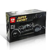 "Конструктор Lepin аналог LEGO Super Heroes 5004590"" Бэтцикл ,мотоцикл Бэтмена"" 358 дет."