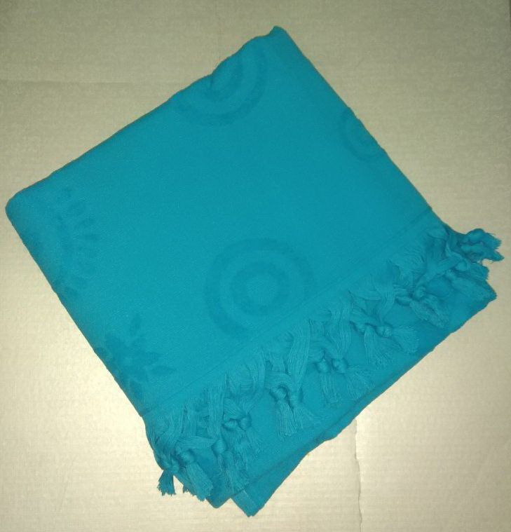 Tivolyo Home  полотенце ROPE голубой