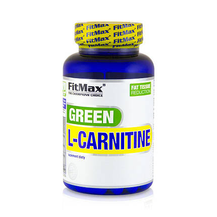 Жироспалювач Green L-Carnitine FitMax 90 caps, фото 2