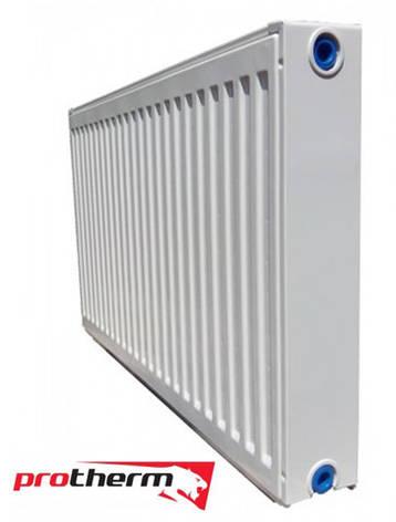 Стальной радиатор Protherm 22 тип 300х1100 (с боковым подключением), фото 2