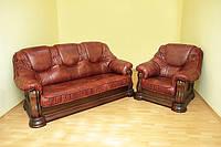 Комплект мягкой мебели GRIZLI (диван и кресла)