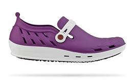 Обувь медицинская Wock, модель NEXO 04 (бело-фиолетовые), по предоплате