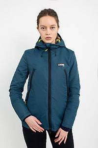 Куртка женская демисезонная Urban Planet AW3 NVY синяя размеры XS S M L