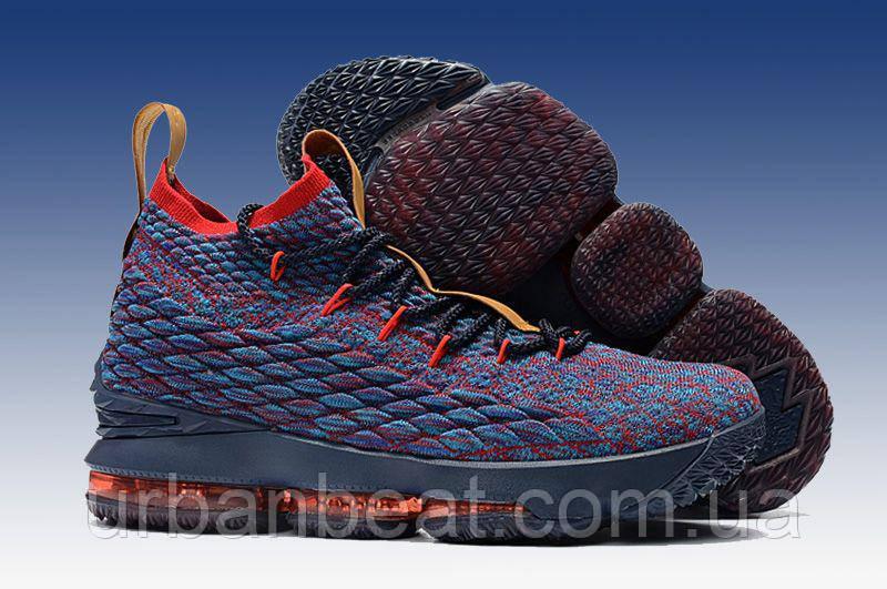 54c86b3f Баскетбольные кроссовки Nike Lebron 15 New Heights Реплика: продажа ...