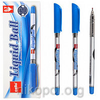 Ручка масляная Cello Liquid Ball 1167 синяя